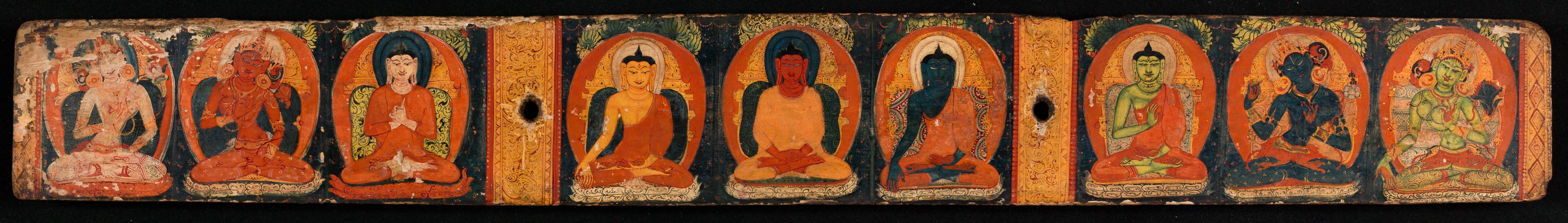Ais représentant des Buddhas et Prajnaparamita
