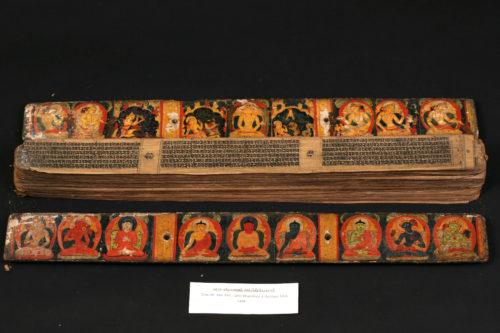 Photographie du manuscrit avant restauration