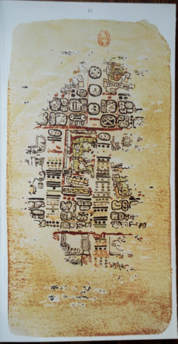 Codex de Paris, détail (photographie).