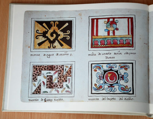 Codex Magliabechiano, détail (photographie).